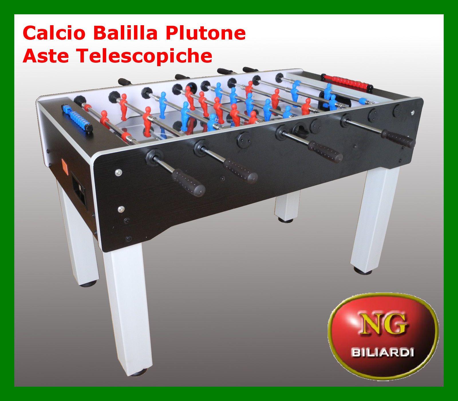 Calcio balilla plutone aste telescopiche calcetto - Calcio balilla design ...