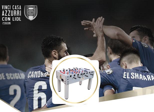 calcio balilla Monumental NG biliardi per Casa Azzurri